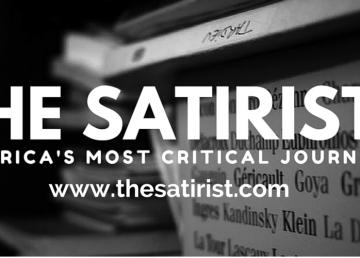 The Satirist - black and white