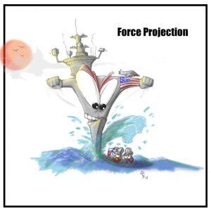 U.S. force project